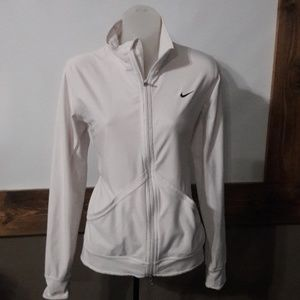 Womens sz M Nike dri-fit semi fitted jacket